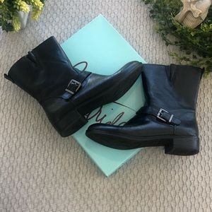 Life Stride black Moto style boot size 8